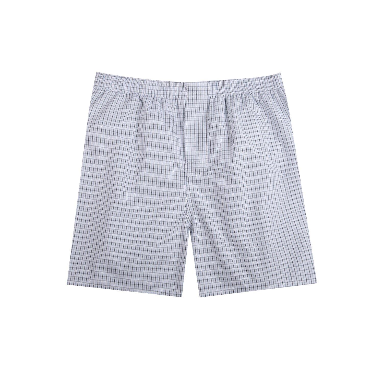 Pau1Hami1ton Mens Woven Boxers Checked Shorts Underwear Briefs Trunks Multi Pack B-01