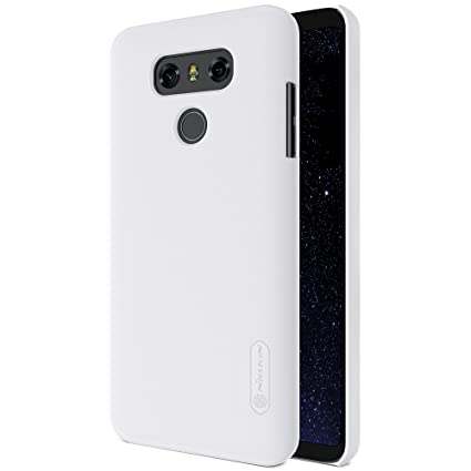 sale retailer fdaed f2963 Nillkin Cell Phone Case for LG G6 - White: Amazon.in: Electronics