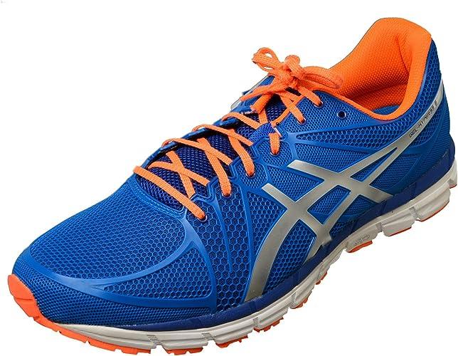 Zapatillas Running: Azul Naranja Blanco Asics Gel