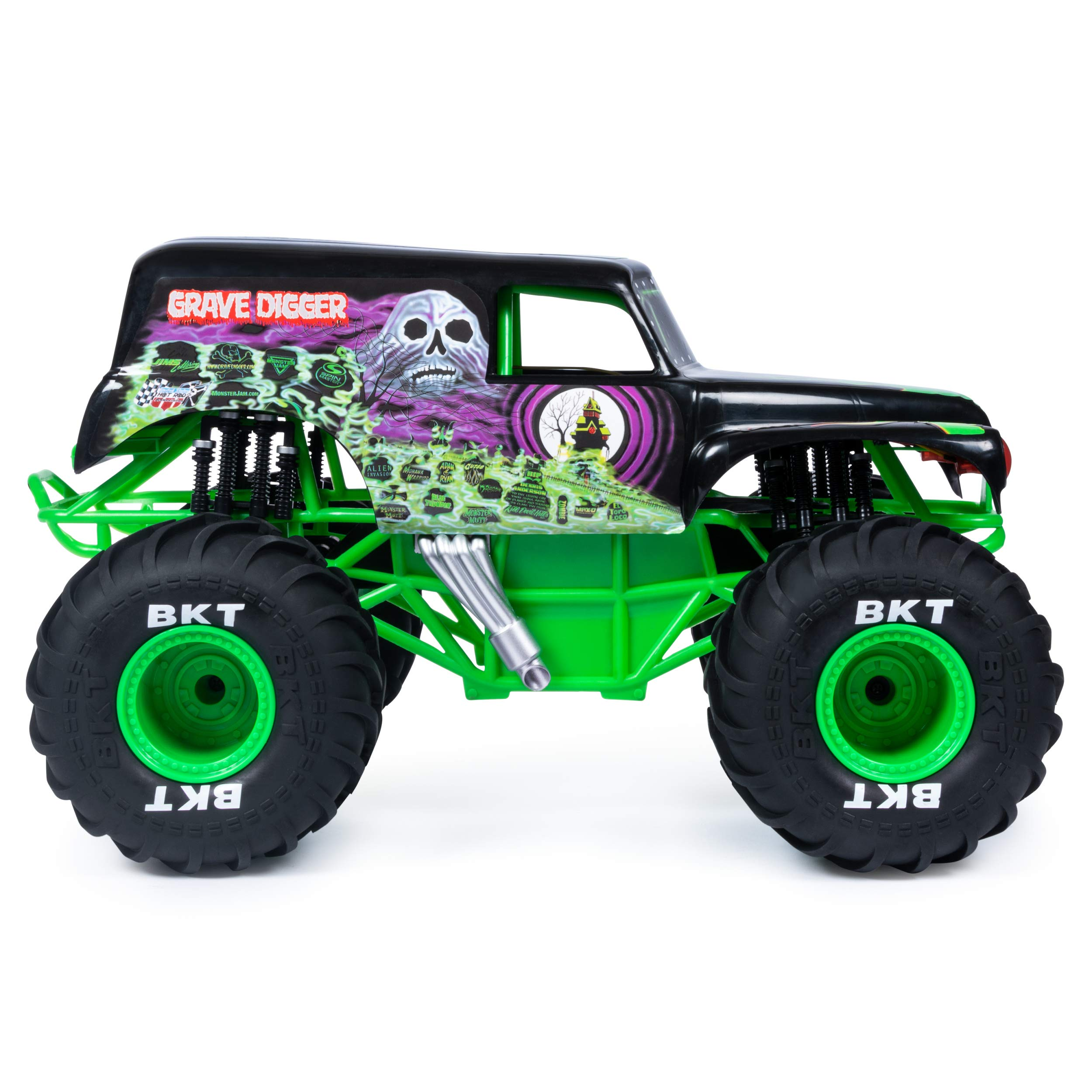Monster Jam Official Grave Digger Rc Truck 1: 10 Scale with Lights & Sounds For Ages 4 & Up by Monster Jam (Image #5)
