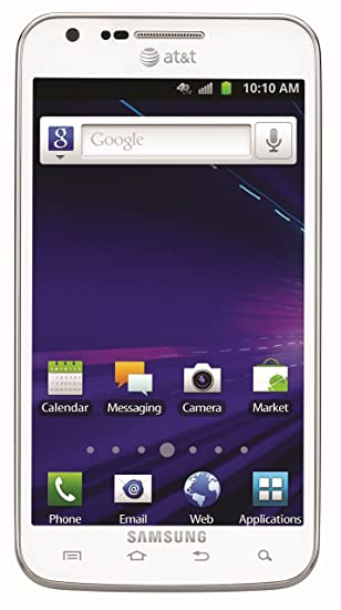 Samsung Galaxy S II Skyrocket SGH-i727 16Gb White WiFi Android GSM 3G Cell  Phone