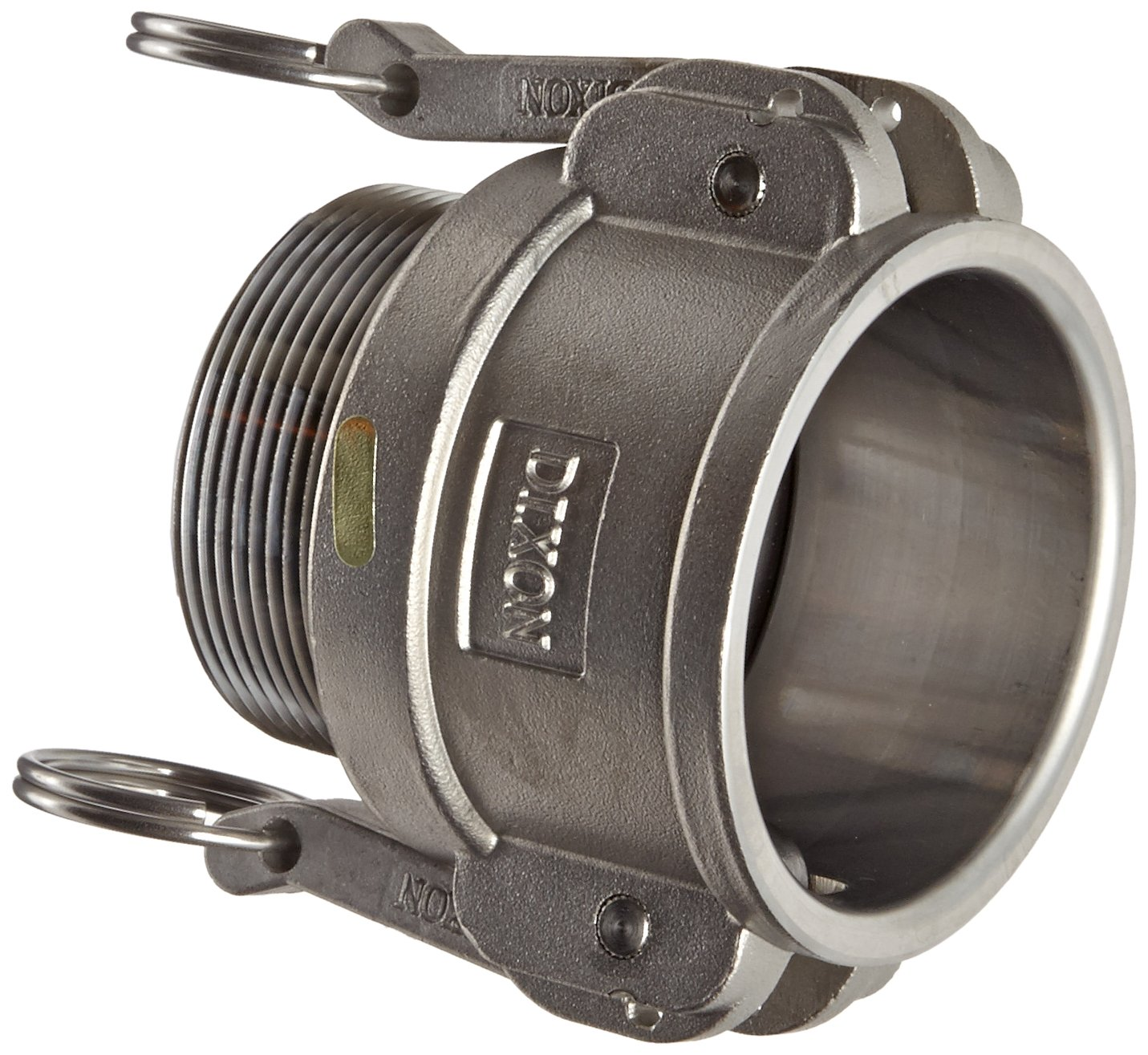 Dixon G200-B-SS Investment Cast Stainless Steel 316 Global Type B Cam and Groove Hose Fitting, 2'' Socket x c NPT Male