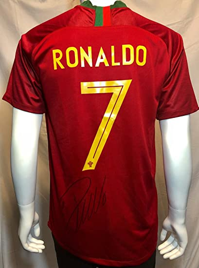 Autographed Cristiano Ronaldo Jersey - Nike World Cup BAS Beckett - Beckett  Authentication - Autographed Soccer Jerseys at Amazon s Sports Collectibles  ... e15df14a4