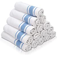 KUULE- Kitchen Towels, 100% NARURAL Cotton,- (15 Pack) Tea Towel Great for Any Kitchen DISHCOLOTHS & Household Cleaning…