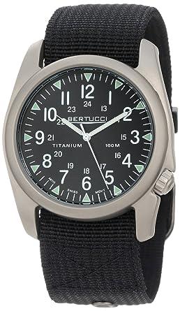 Bertucci Mens 13406 A-4T Vintage 44 Yankee Durable Titanium Field Watch