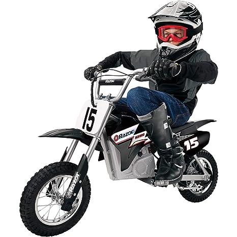 Amazon.com: Bicicleta estilo moto, juego eléctrico ...