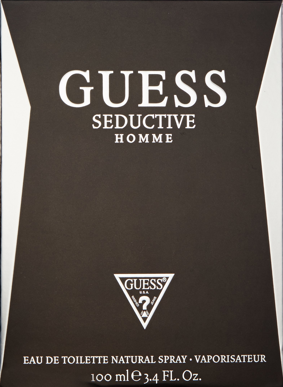 Guess Seductive Men Edt Spray, 3.4 Ounce