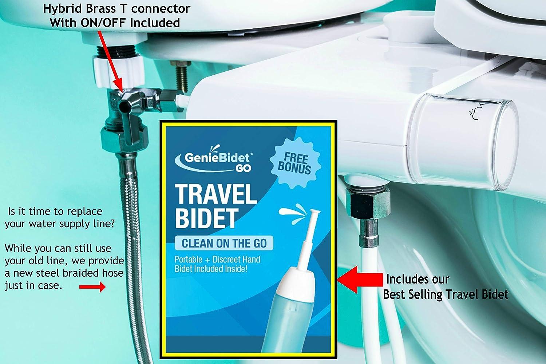 Best portable bidet-GenieBidet-GO Portable Bidet with Telescoping Nozzle