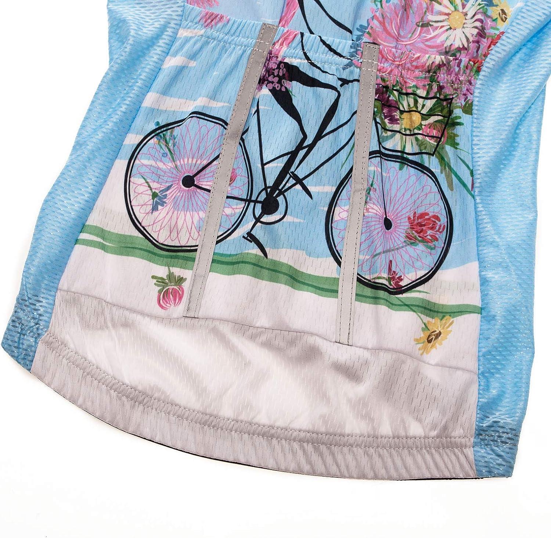 JPOJPO Womens Bike Shorts Cycling Shorts with Gel Padded,Cycling Womens Shorts
