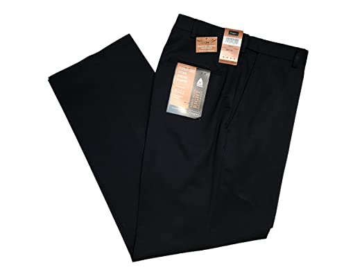 00d94a97f88 Haggar Gabardine Comfort Luxe Flat Front Men s Dress Pants (33 30 ...