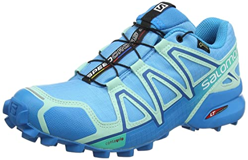 Klar Salomon Blau Schuhe Mit Speedcross 3 Trail Running
