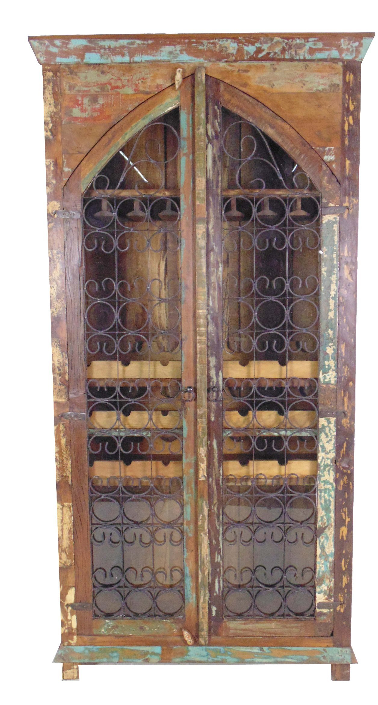 Moti Furniture Trinidad Tall Wine Cabinet