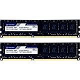 Timetec Hynix IC 16GB Kit (2x8GB) DDR3L 1600MHz PC3L-12800 Non ECC Unbuffered 1.35V/1.5V CL11 2Rx8 Dual Rank 240 Pin…