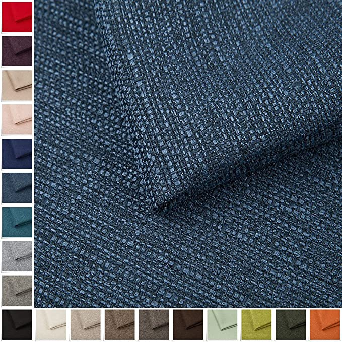 Pure Textilien Portland Woven Fabric Upholstery Fabric Plain Sold by the Metre Blue 81: Amazon.de: Küche & Haushalt