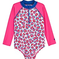 Coolibar UPF 50+ Baby Wave One-Piece Swimsuit - Sun Protective