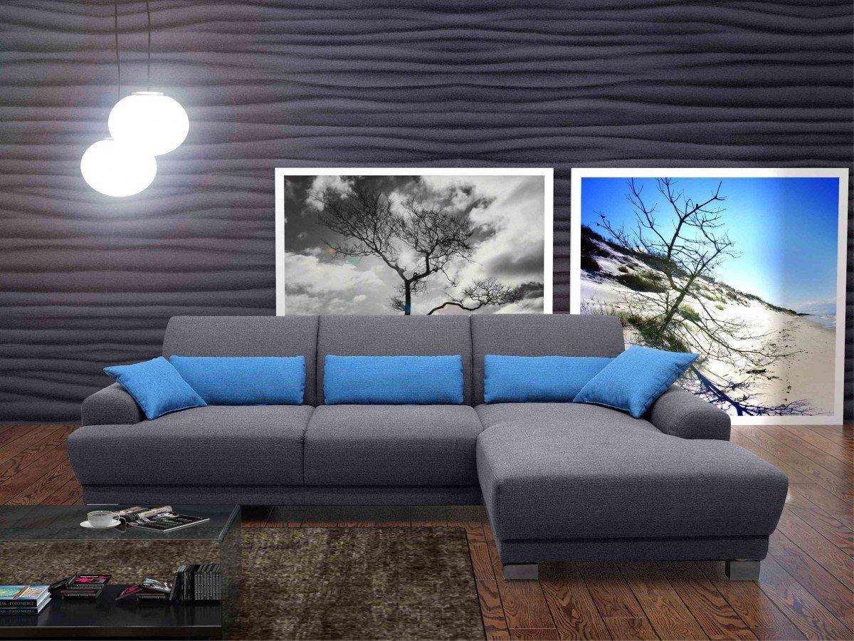 Dreams4home Boxspring Sofa Luca Polsterecke Ecksofa Couch