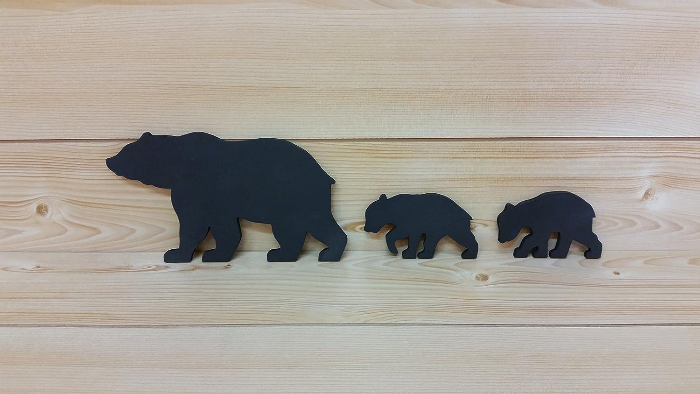 Amazon com bear wall art cut out bear wall art bear