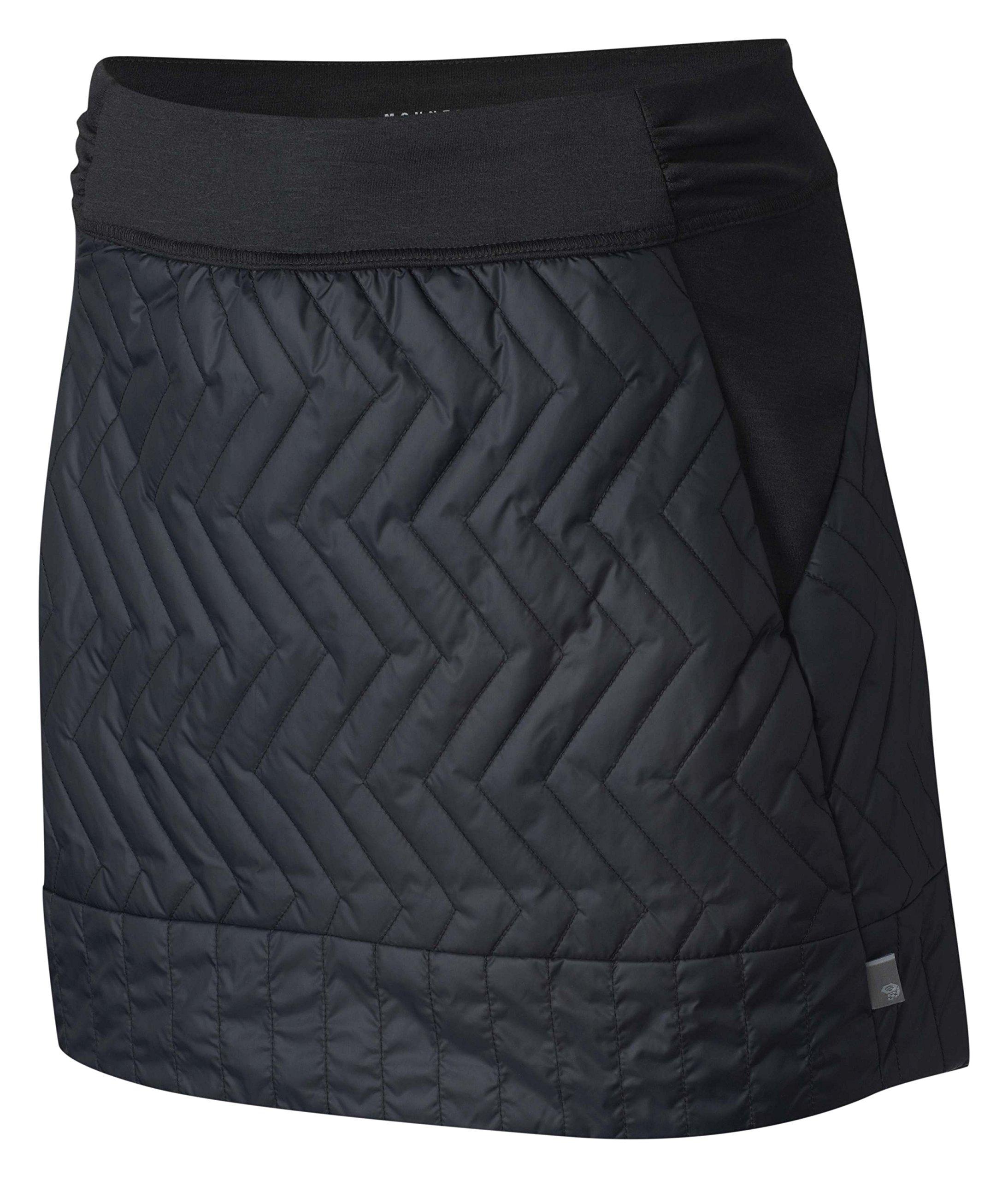 Mountain Hardwear Women's Trekkin¿ Insulated Mini Skirt Black X-Large by Mountain Hardwear