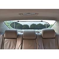 TFY Universal Pop-Open Design Auto-Sonnenblende Sonnenschutz Hitzereduktion zusammenfaltbares für die Heckscheibe und die Seitenfenster - 3 Stück
