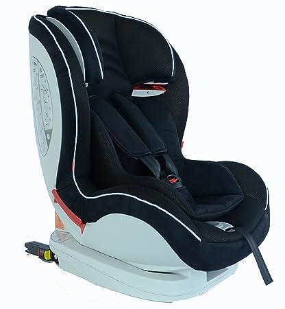 Mondial Safe Toronto 2 DQ2000 - Silla de bebé para automóvil, color negro con ribete