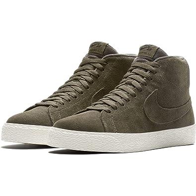 35eb74540308f Nike Men s SB Zoom Blazer Mid Decon RidgeRock Black Skate Shoe Men 11.0 US