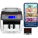 SToK ST-MC02 Compatible with Old & New INR- Rs.10, 20, 50,100,200, 500 & 2000 Notes Counting Machine with Fake Note Detector with Beep Function & color changing LCD Display - 1 Year Warranty