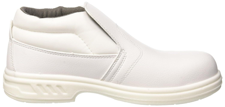 Portwest FW83 talla 34 Slip-On de seguridad 34//1 S2 color Blanco