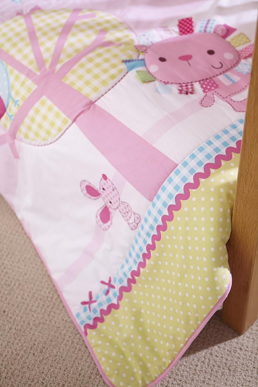 Clair de Lune Toy Shop Cot//Cot Bed Quilt and Bumper Set 2 Pieces