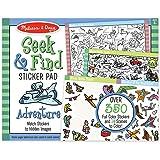 Melissa & Doug Seek & Find Sticker Pad - Adventure Sticker Sets & Activity Pads