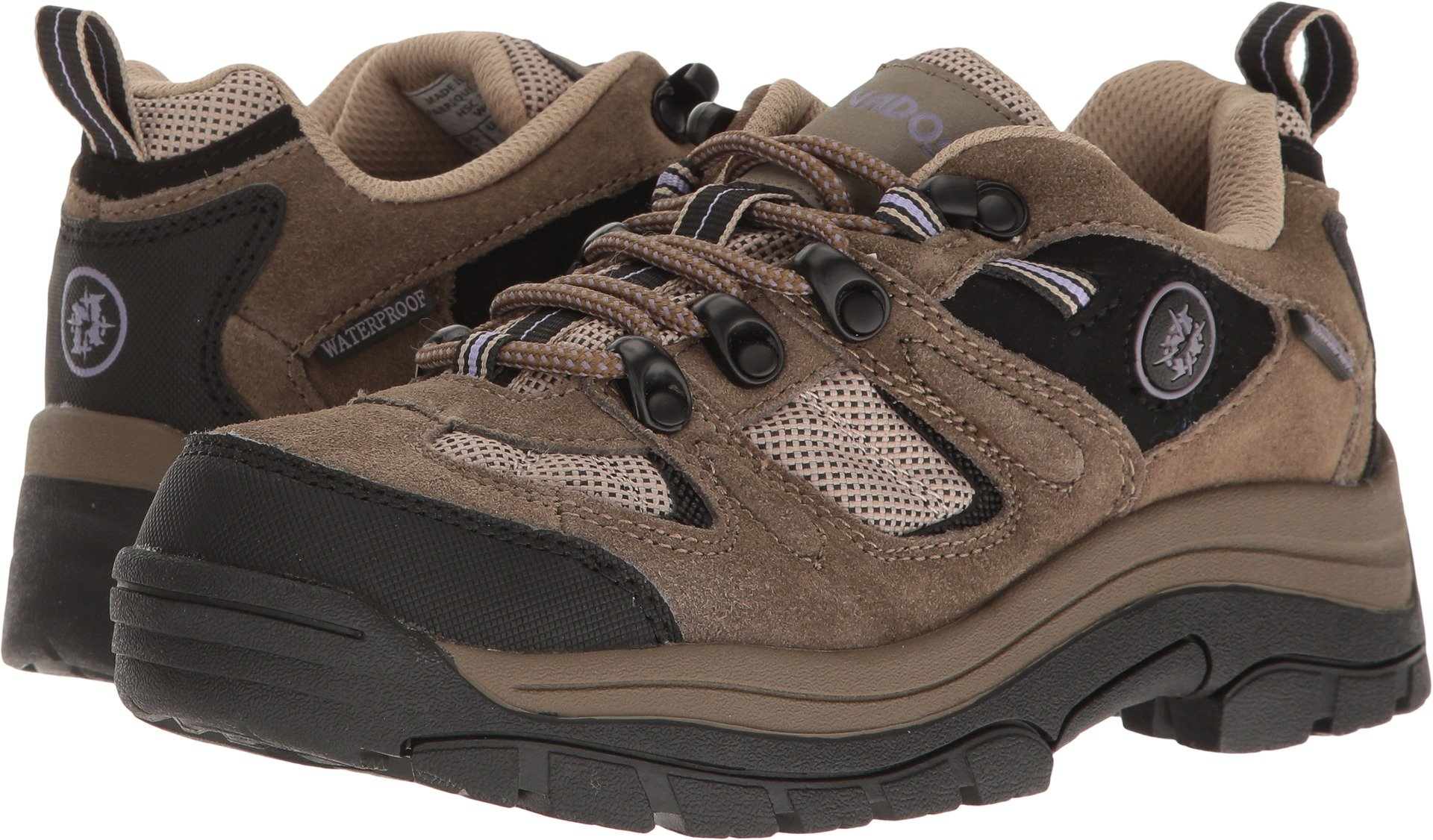 Nevados Women's Klondike Waterproof Low V4161W Hiking Boot,Dark Brown/Black/Taupe,9 M US
