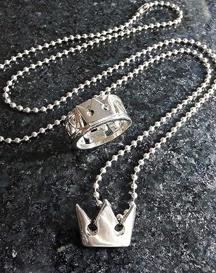 Amazon.com: Collar de Sora con corazones del Reino (diseño ...