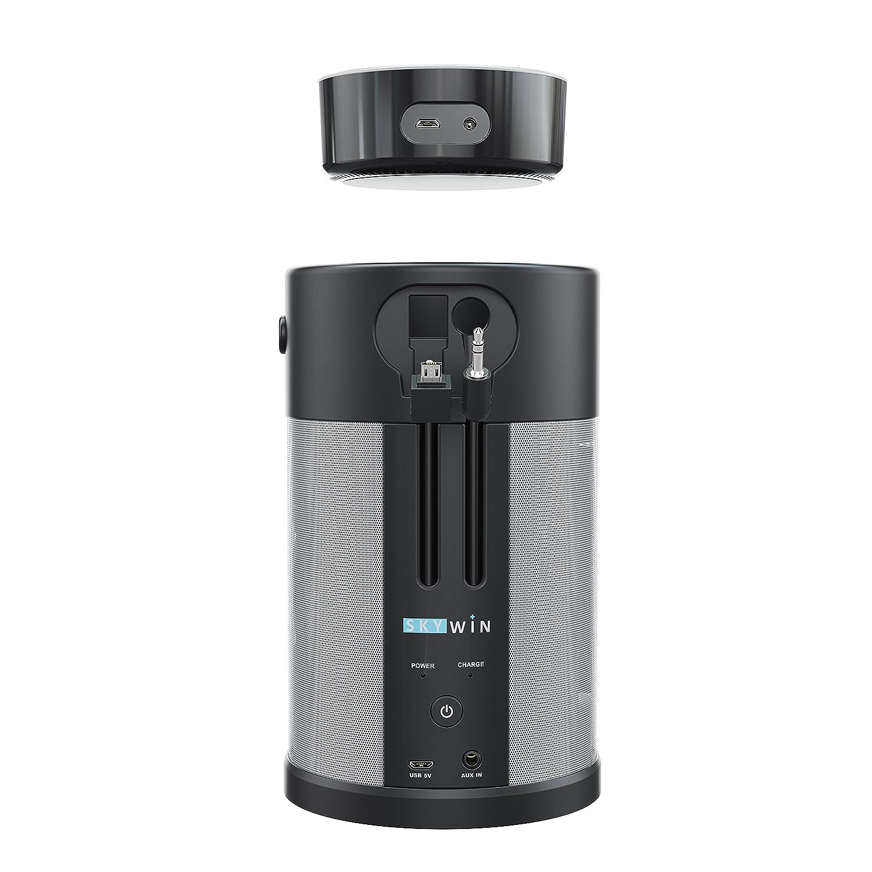 Skywin Wireless Battery Speaker for Amazon Dot 2nd Gen – Echo Dock Portable Speaker and Battery Base for Better Sound Anywhere You Go