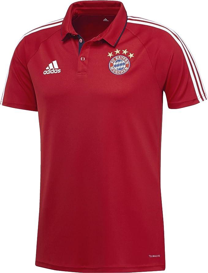 adidas Bq2435 Polo de FC Bayern de Munich Hombre: Amazon.es: Ropa y accesorios