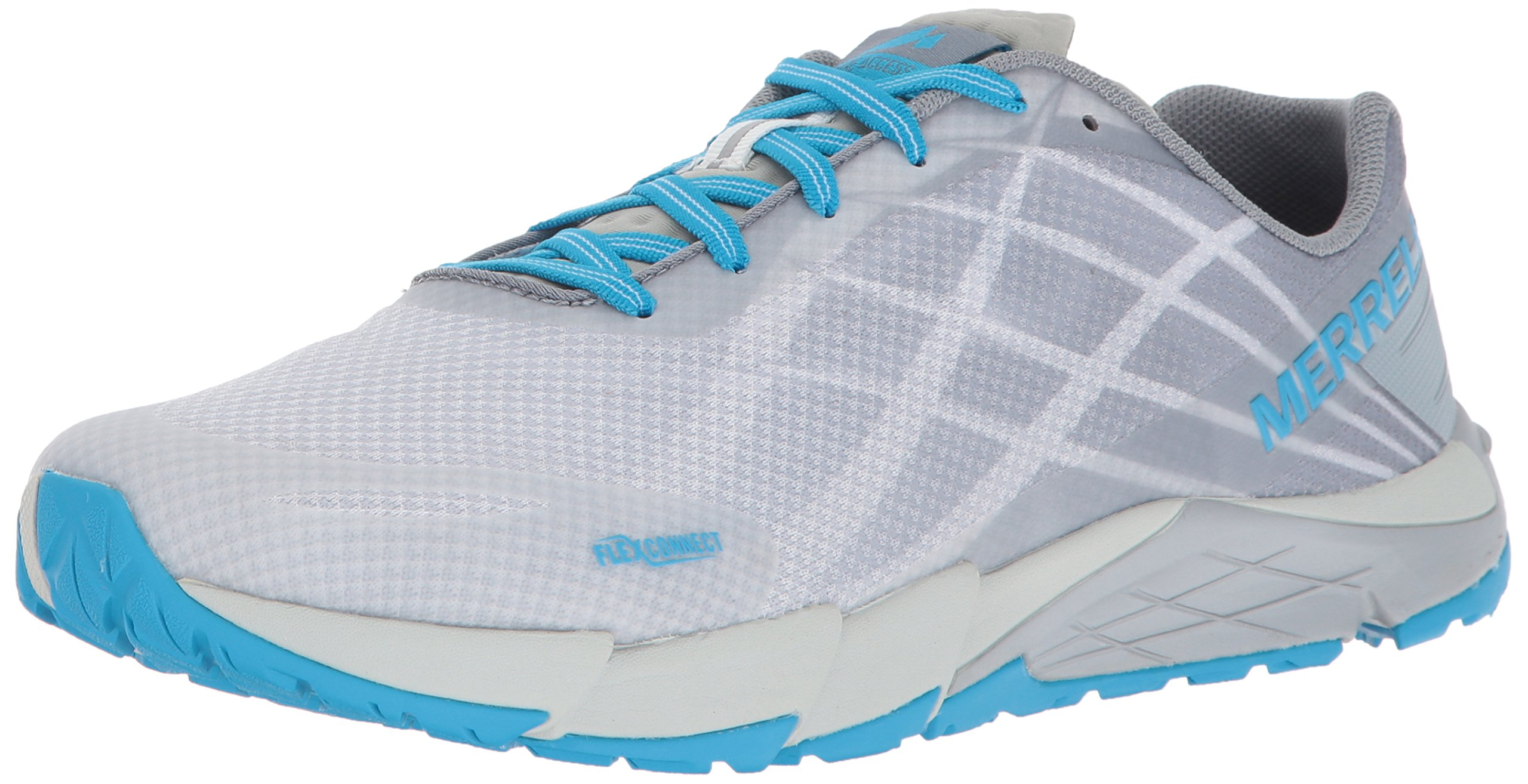 Merrell Women's Bare Access Flex Trail Runner, Ice, 8 M US