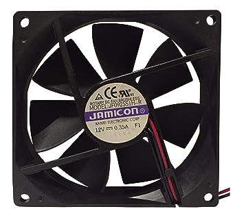 Ventilador de refrigeración JAMICON de 12 V DC para ordenador (92 ...