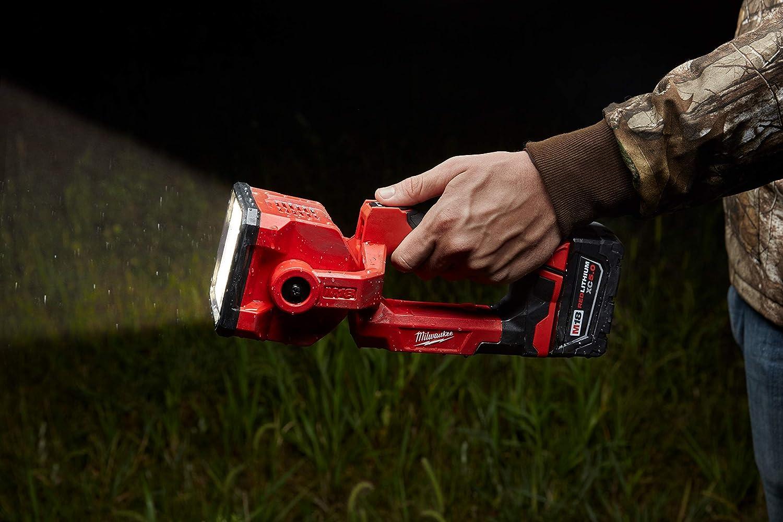 Milwaukee Cordless Search Spot Flood Light Strobe Pivoting Head M18 2354-20 new