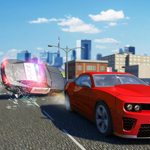 Miami Police Car Chase Crime Simulator: Gangster Car Escape Games FREE