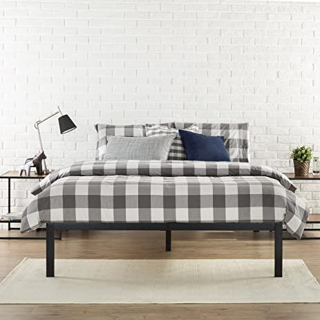 Amazoncom Zinus Modern Studio 14 Inch Platform 1500 Metal Bed