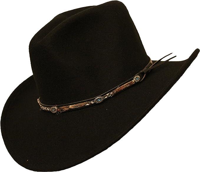 Rockmount Cowboyhut Westernhut Ranch Wear Dream Black Made in USA
