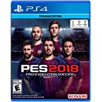 Pro Evolution Soccer 2018 Standard Edition for PS4