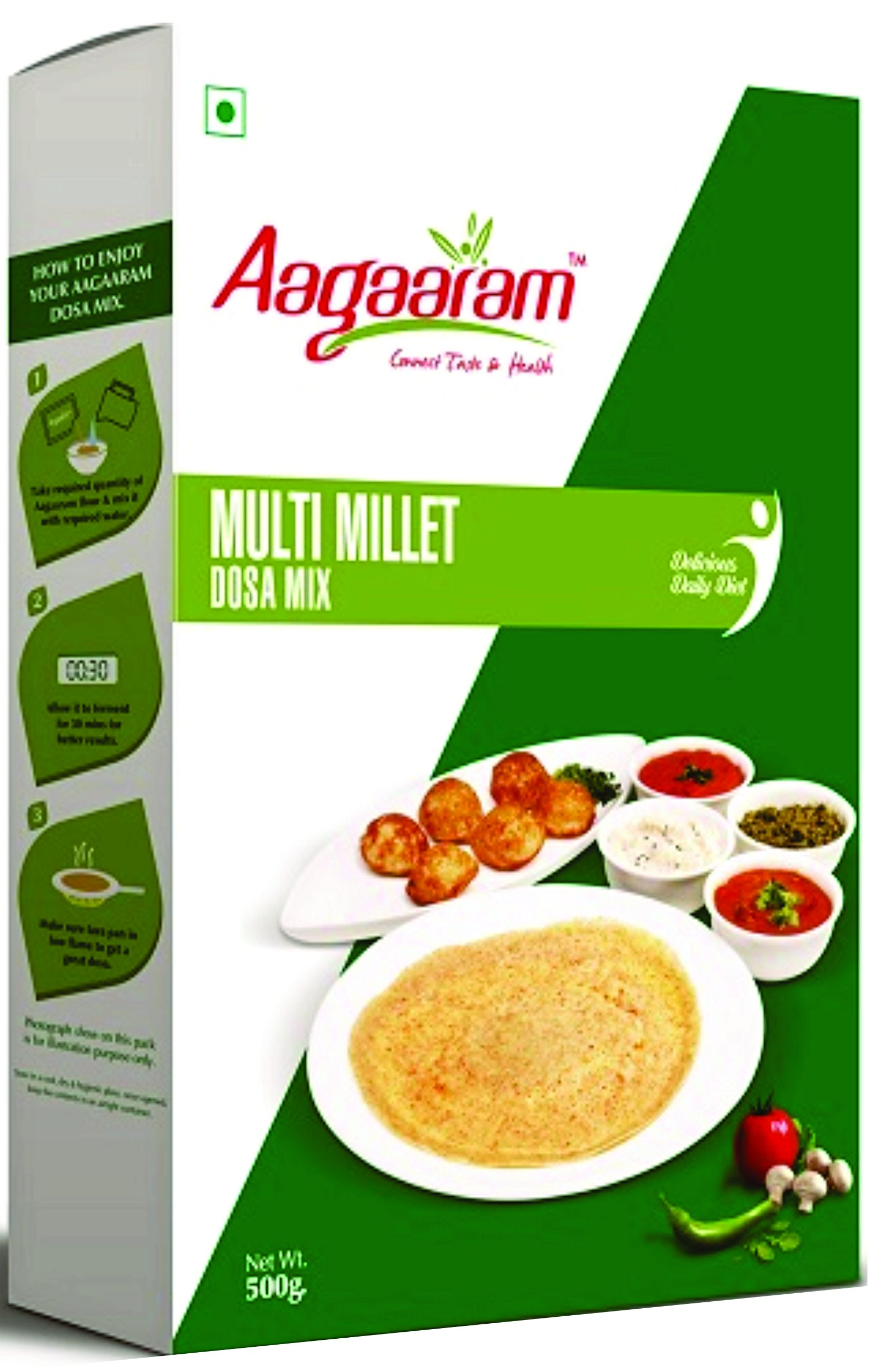 Aagaaram Multi Millet Dosa Mix (500 Grams) (B07DP79DRN) Amazon Price History, Amazon Price Tracker