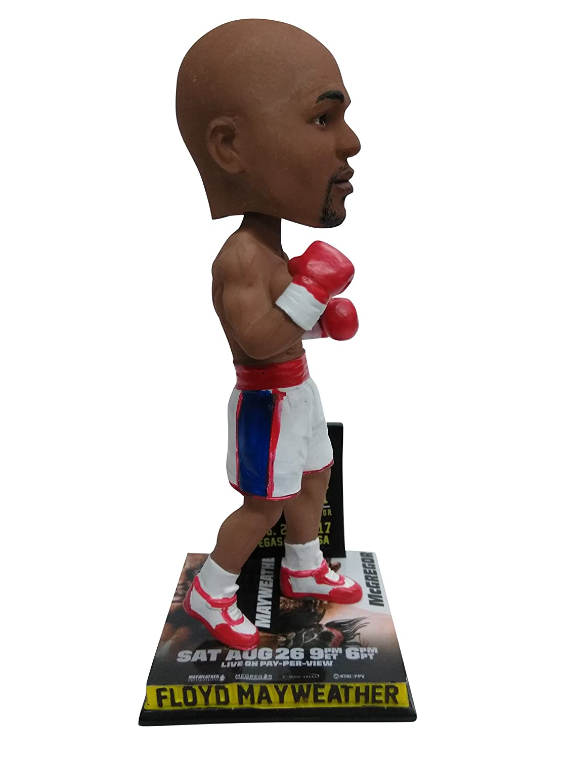 Floyd Mayweather Mayweather vs. McGregor Special Edition Bobblehead National Bobblehead HOF and Museum