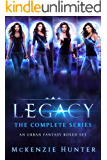 Legacy Series: An Urban Fantasy Boxed Set (Books 1-4)