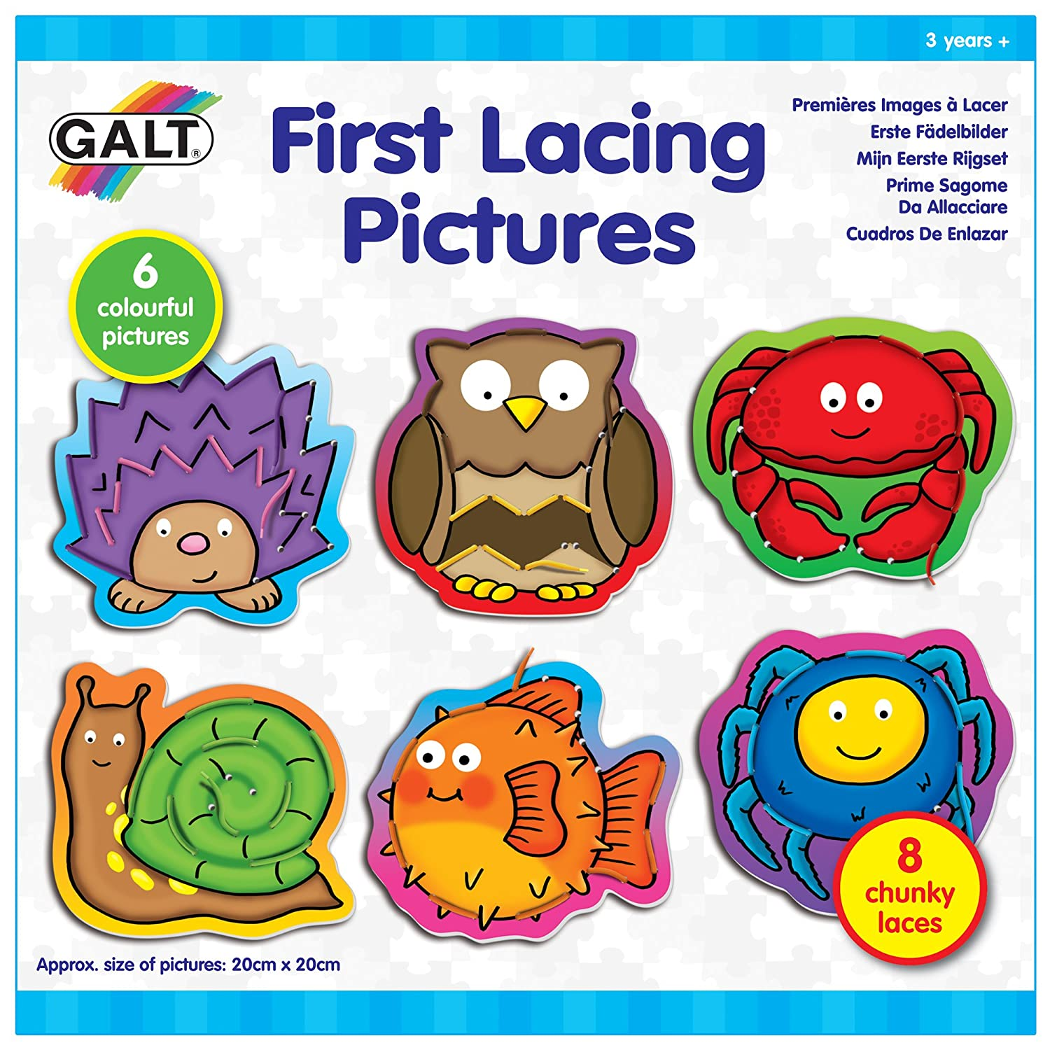 Galt Toys First Lacing Pictures 1004588