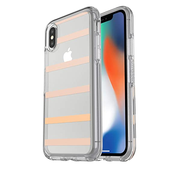 432ddcb7f7 Image Unavailable. Image not available for. Color: OtterBox SYMMETRY CLEAR  SERIES Case for iPhone Xs & iPhone X - Retail Packaging ...