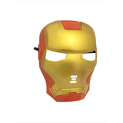 Seasons Merchandise Iron Man Mask fro Kids and Men: Toys & Games