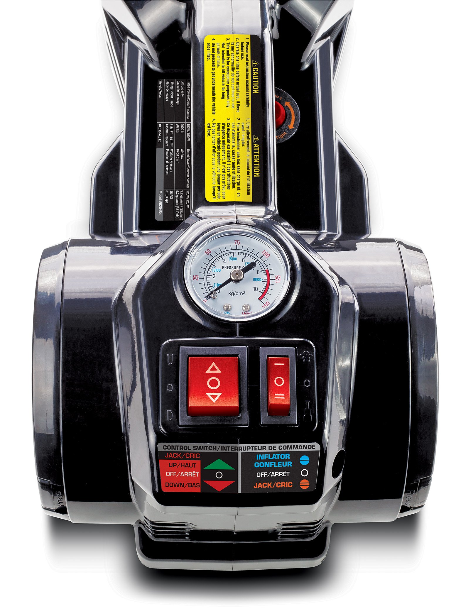 Powerbuilt 620484 12V Electric Jack and Tire inflator by Powerbuilt (Image #3)