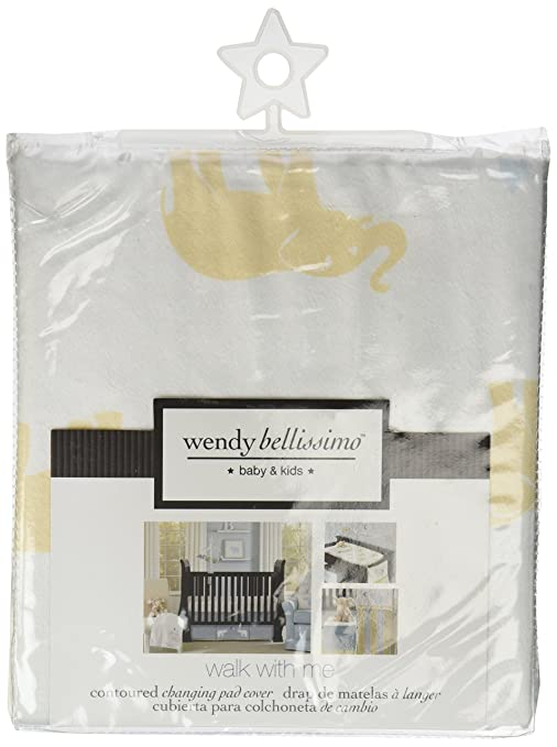 Amazon.com : Wendy Bellissimo Walk with Me Printed Velboa ...