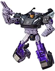 "TRANSFORMERS Barricade Deluxe Class 5.5"" Action Figure - Generations War for Cybertron Siege - Kids Toys - Ages 8+"