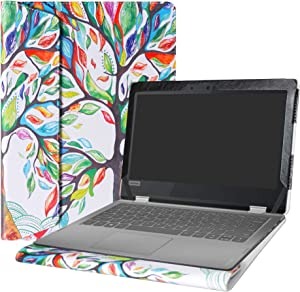 "Alapmk Protective Case Cover for 11.6"" Lenovo Flex 6 11 6-11IGM/Flex 4 11 4-1130 & HP Chromebook 11 G8 EE/HP Chromebook X360 11 G3 EE Laptop(Note:Not fit Flex 3 11/Flex 11 CHROMEBOOK),Love Tree"